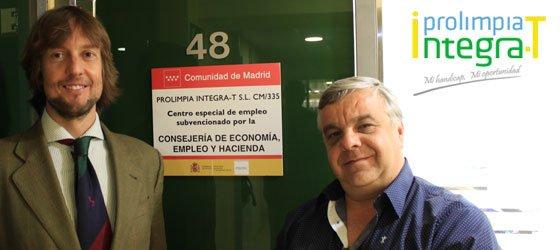 Inauguración del centro especial de empleo de Prolimpia Integra-T
