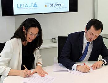 Leialta y Fundación Prevent unen fuerzas para impulsar el emprendimiento de las personas con discapacidad.