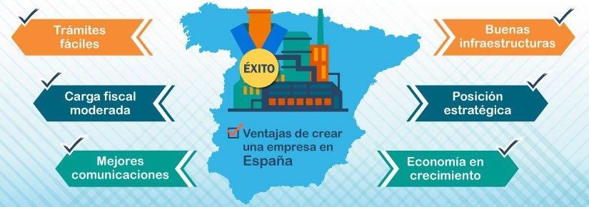 Crear una empresa en España: más ventajas de las que imaginas