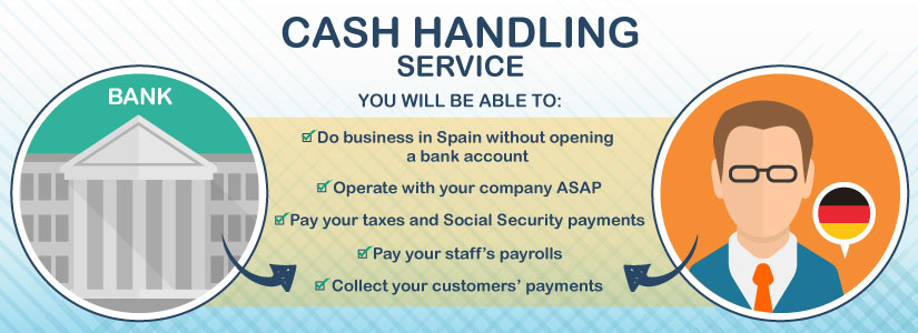 Cash handling: a good solution when setting up a business in Spain as a foreigner.