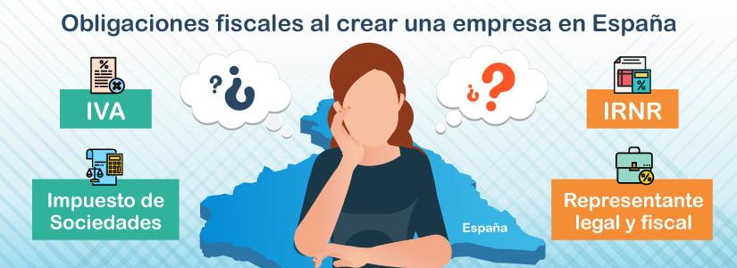 ¿Cuáles son las obligaciones fiscales al crear una empresa en España?