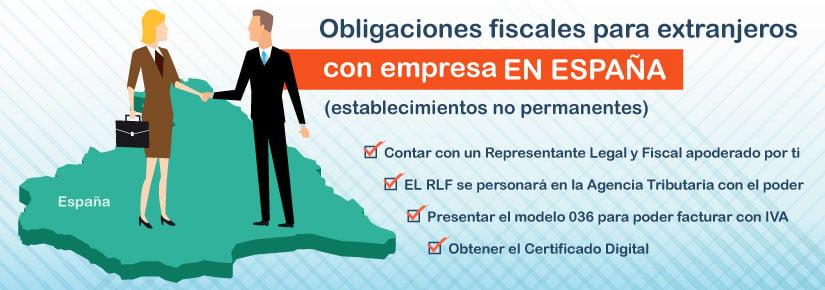 Conoce las obligaciones fiscales para extranjeros con empresa en España