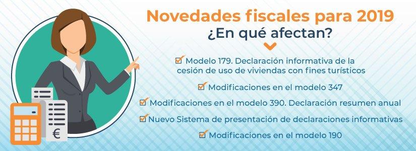 Conoce las novedades fiscales para 2019 en España y en qué afectan