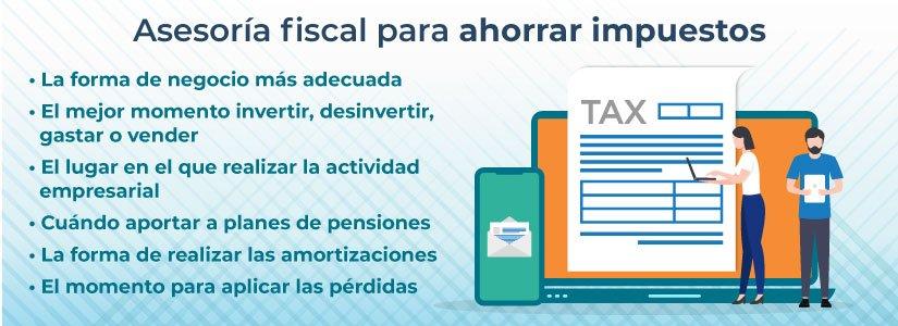 Asesoria fiscal para ahorrar impuestos