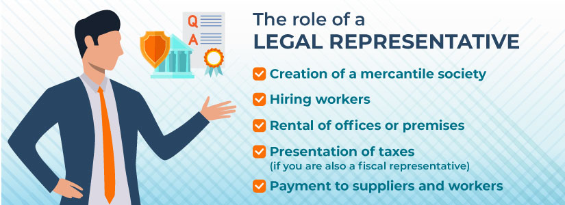 Outlining the role of a legal representative in Spain
