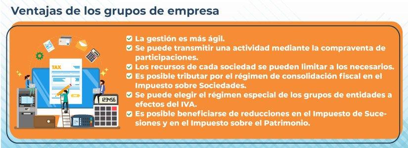 IVA para grupos de empresas.