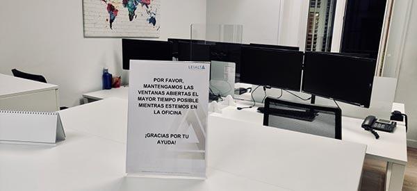 Medidas de seguridad para empleados y clientes de LEIALTA