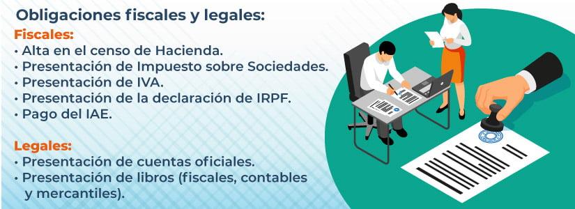 Obligaciones de una sucursal o filial en España