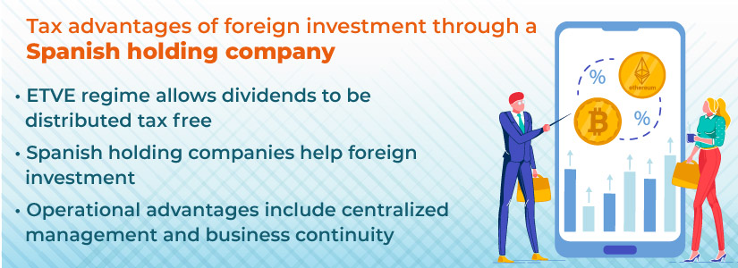 Spanish holding companies channel investment to and from foreign entities