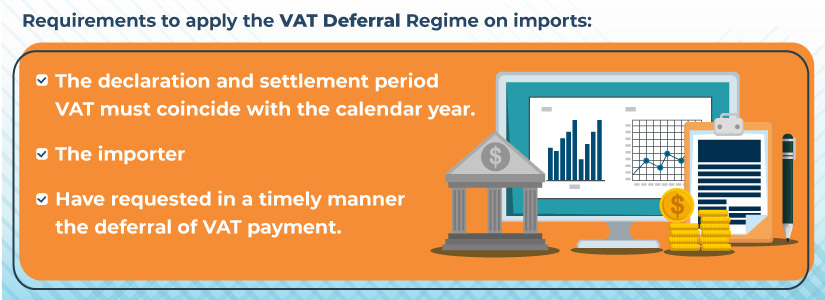 what is the VAT deferral regime on imports