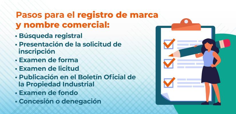Requisitos para el registro de marca y nombre comercial